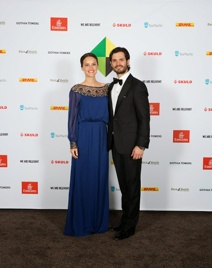 Prince Carl Philip and Sofia Hellqvist Project Playground gala arrivals