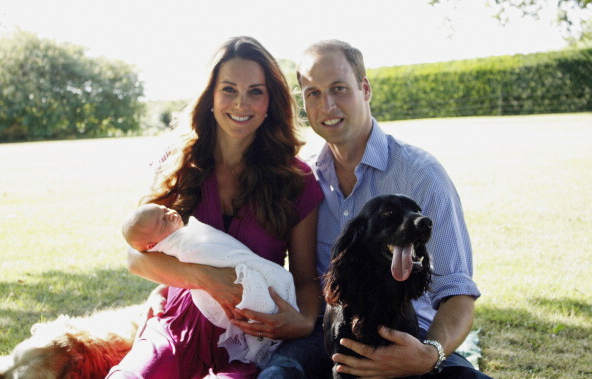Prince George first official photo 1