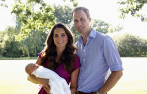 Prince George first official photo 2