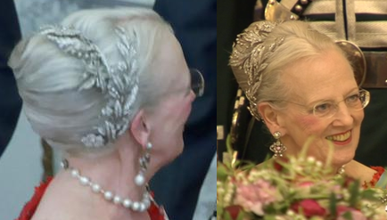 Queen Margrethe in the Floral Wreath Tiara