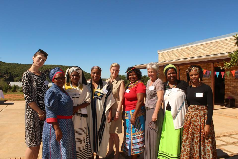 Sophie visiting Ubunye Foundation 1