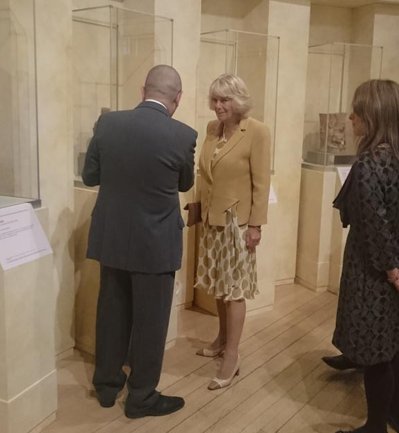 Camilla at World Museum