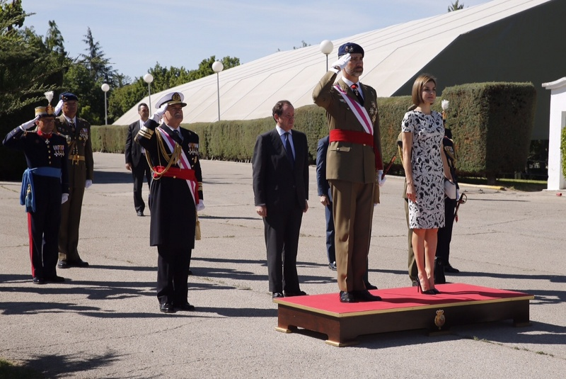 Felipe and Letizia new royal guards ceremony2
