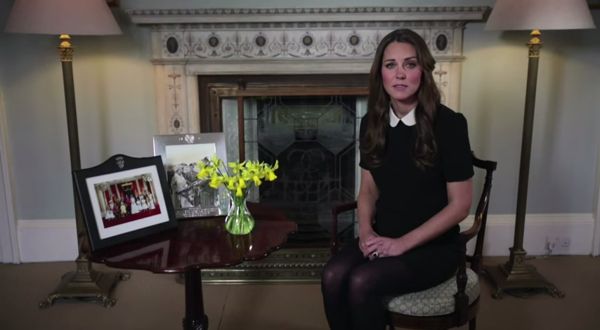 Kate's video message for CHW 2013 2