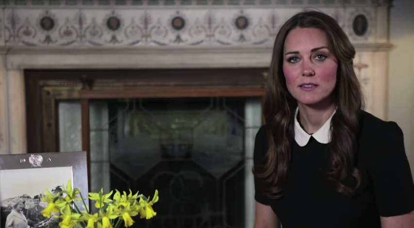 Kate's video message for CHW 2013