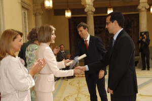 Letizia hands out Reina Sofia Awards