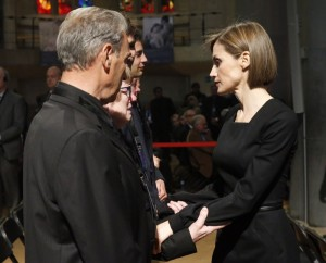 Letizia offers condolences to the families of the victims 3