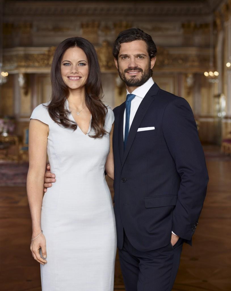 Prince Carl Philip and Sofia Hellqvist official portrait s