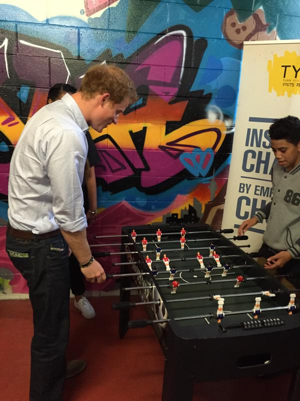 Prince Harry at TYLA2