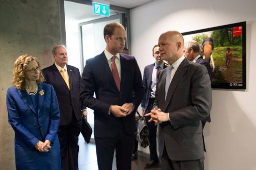 Prince William in Switzerland for United for Wildlife