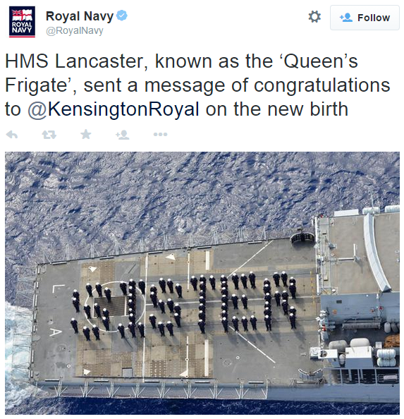 royal navy sister for george