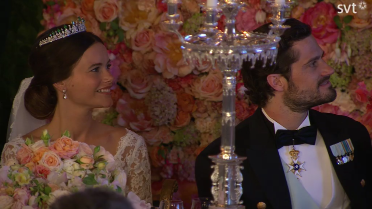 Carl Philip and Sofia at reception2