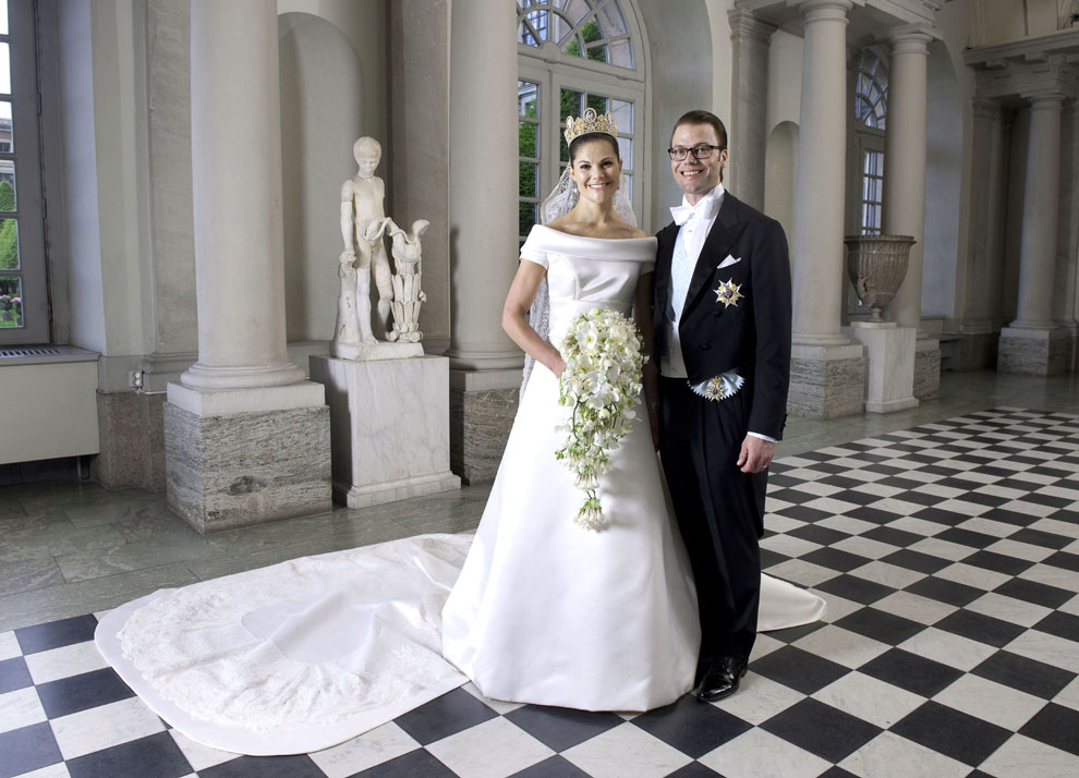 Crown Princess Victoria and Prince Daniel wedding photo