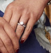 Crown Princess Victoria's engagement ring