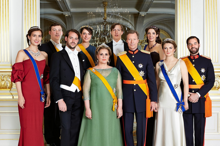 Luxembourg Royal Family l