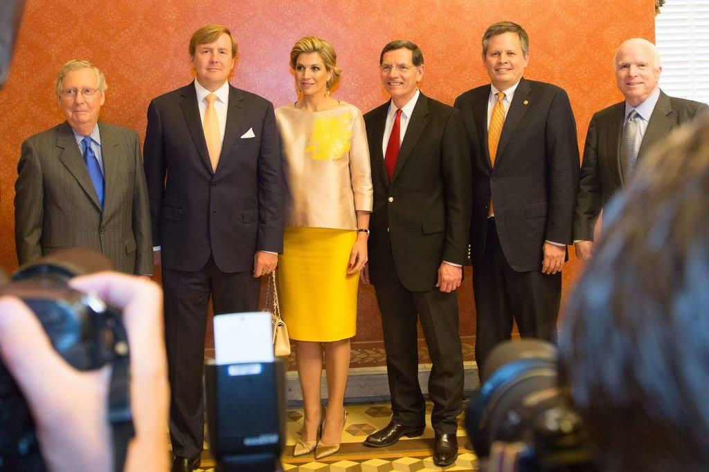 Maxima and Willem-Alexander at congress
