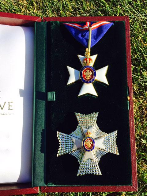 Prince Harry's Royal Victorian Order