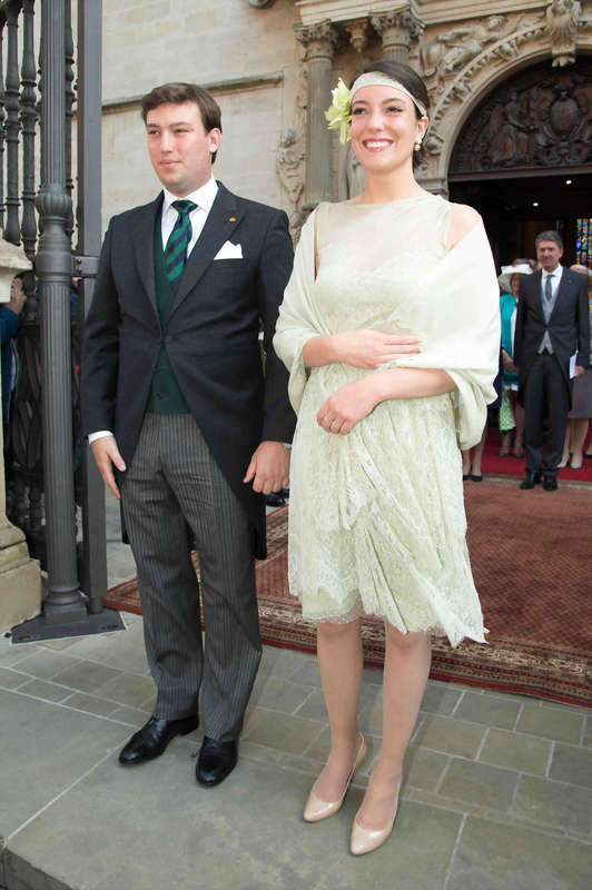 Princess Alexandra and Prince Sebastien National day