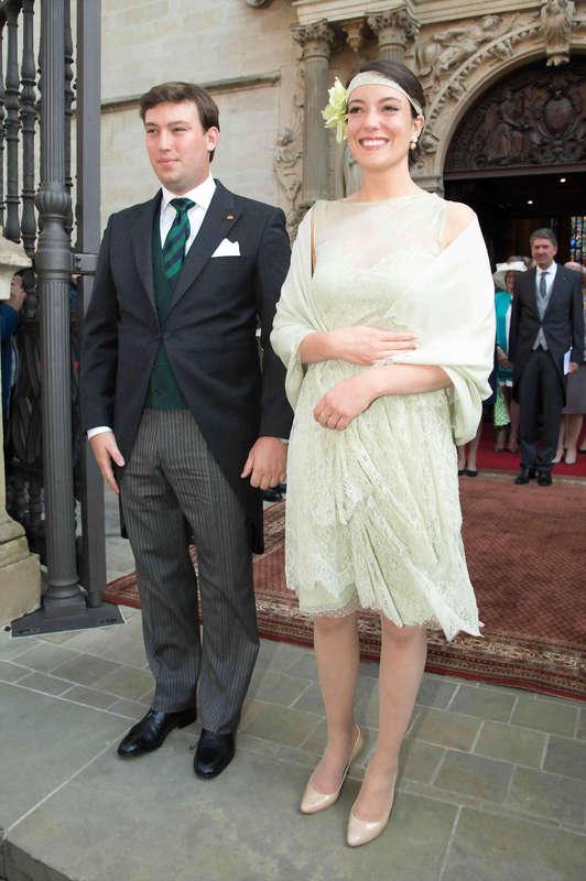 Princess Alexandra and Prince Sebastien National day