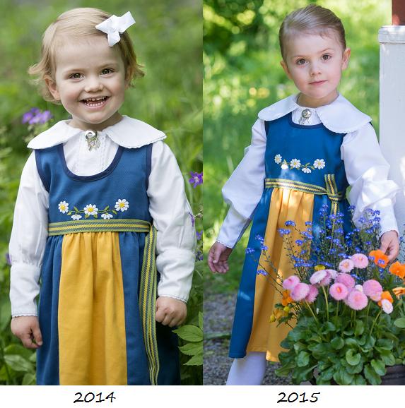 Princess Estelle Sweden National Day 2014-2015