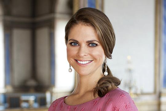 Princess Madeleine 33rd birthday portrait