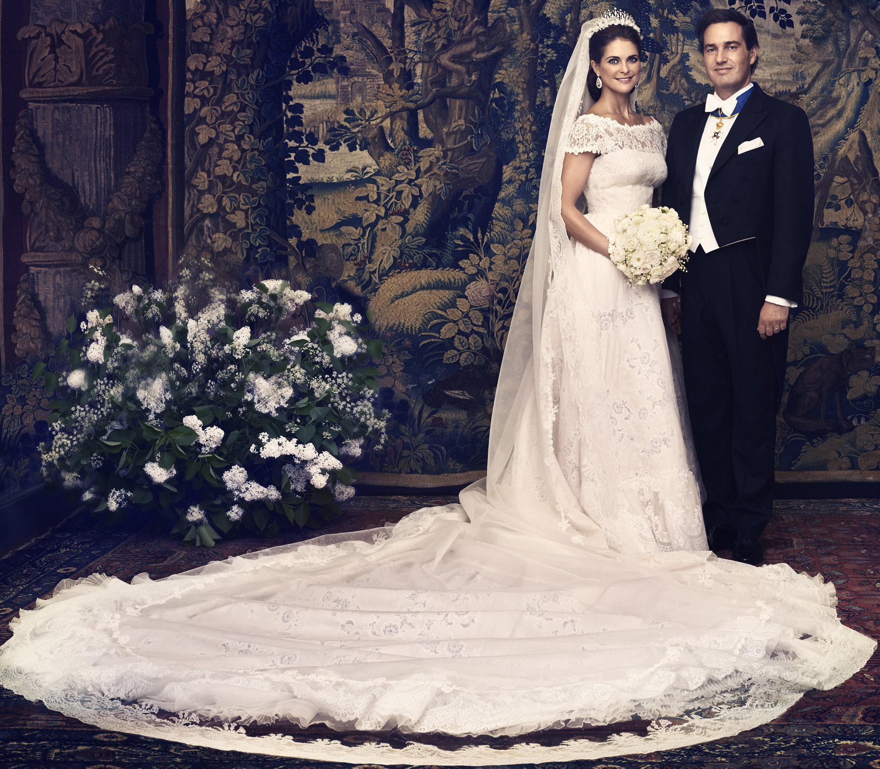 Princess Madeleine Wedding Dress S