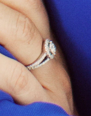 Sofia Hellqvist's engagement ring