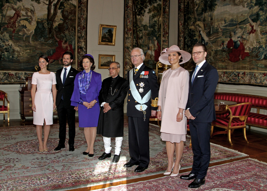 Sweden State Visit from India royal family day 1
