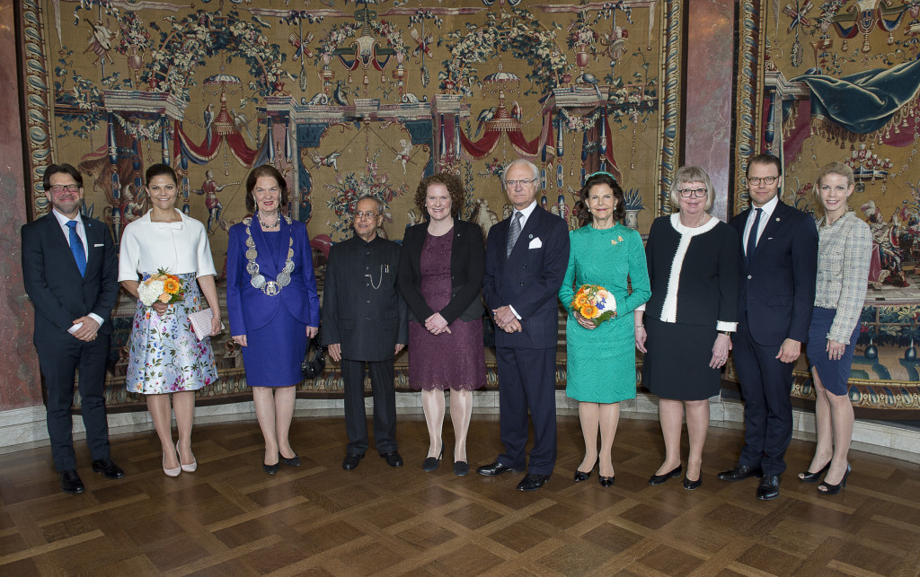 Sweden State Visit from India royal family day 2