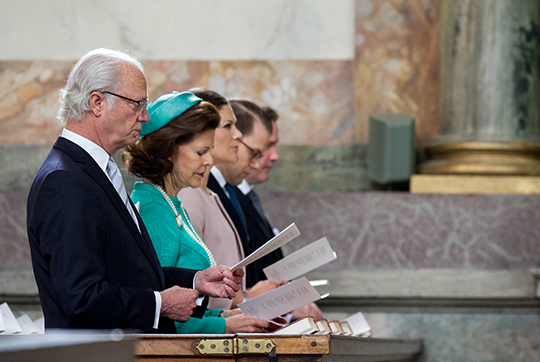 Swedish royals attend Te Deum2