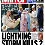 Daily Mirror Charlotte cover