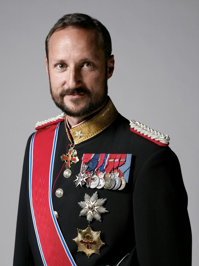 Crown Prince Haakon military