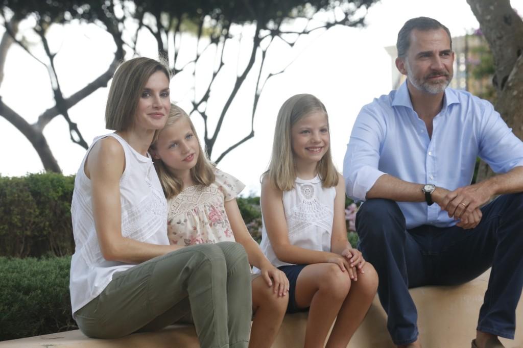 Felipe, Letizia, Leonor, Sofia