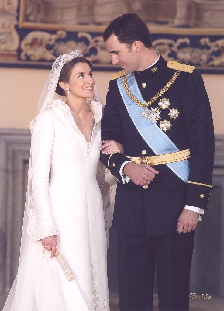 Felipe and Letizia wedding