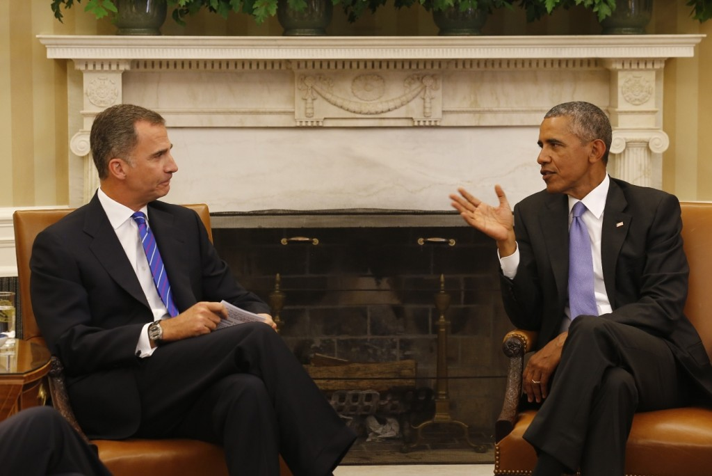 Felipe and Obama Oval Office meeting