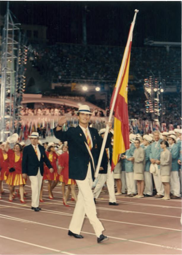 Felipe flag bearer