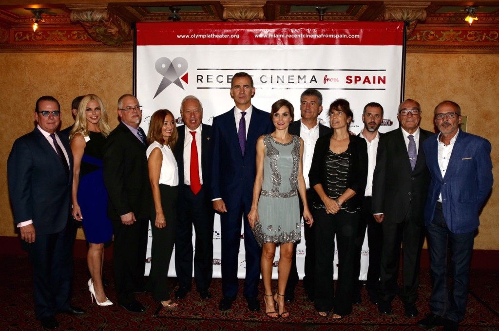 Letizia and Felipe at Recent Cinema from Spain
