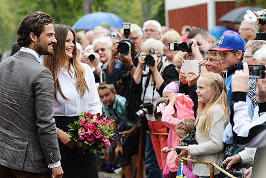 Prince Carl Philip and Princess Sofia Värmland 1