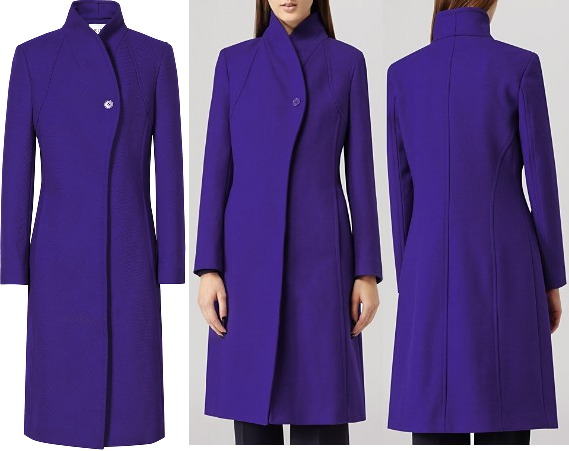 Reiss Emile Sharply Tailored Coat