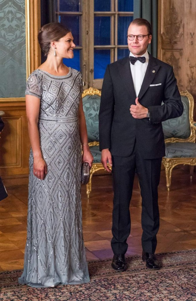Sweden Dinner Crown Princess Victoria