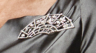 Chris' mother's brooch