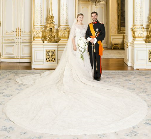 Guillaume and Stephanie Wedding Portrait sm