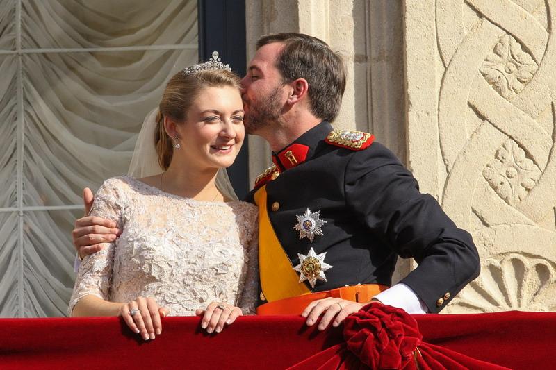 Mariage princier 2012 - Mariage religieux - Apparition au balcon