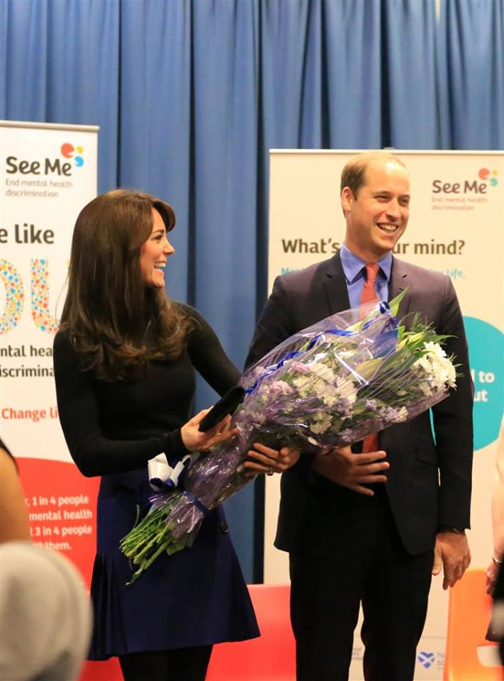 Kate and William at See Me event