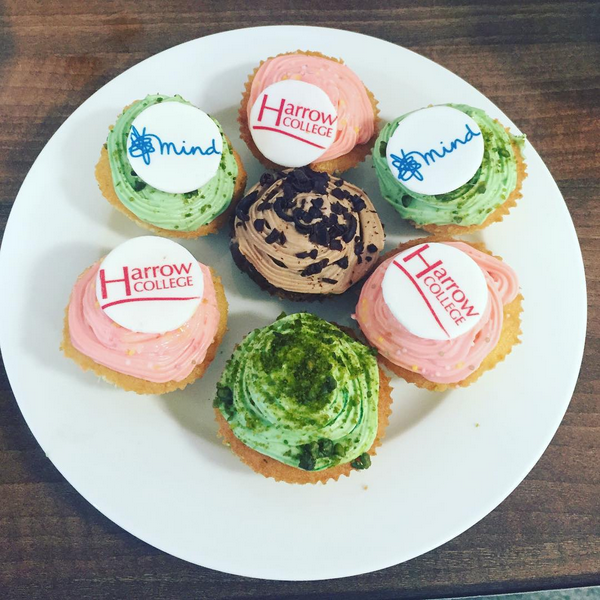 Mind Harrow College Cupcakes