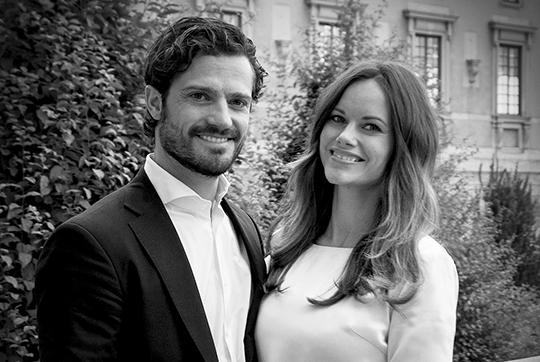 Prince Carl Philip and Princess Sofia are expecting a child.
