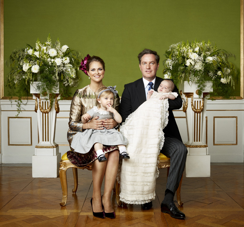 Prince Nicolas Christening photo family