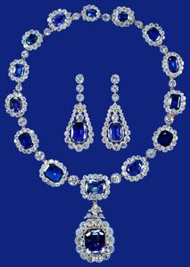 Sapphire and Diamond set
