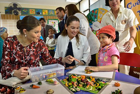 Victorian visits INEN in Peru