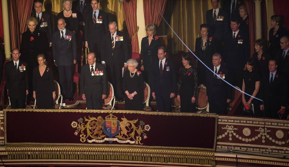British Royal Family at Festival of Remembrance